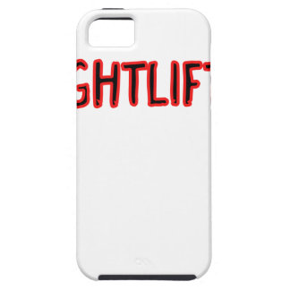 Weightlifting Design iPhone 5 Cases