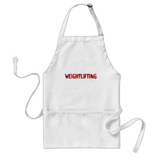 Weightlifting Design Standard Apron