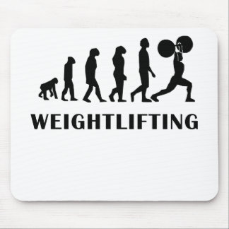Weightlifting Evolution Mouse Pad