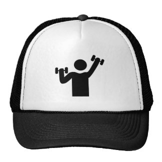 Weightlifting Exercise Mesh Hats