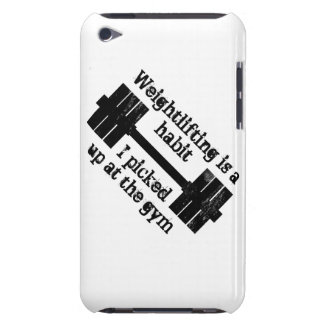 Weightlifting Habit Barely There iPod Cases