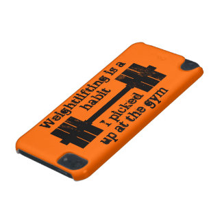 Weightlifting Habit iPod Touch (5th Generation) Cases
