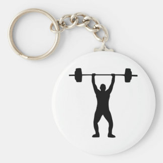 Weightlifting Key Chains
