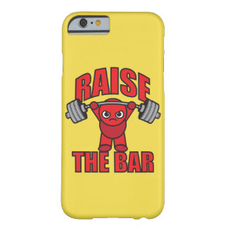 Weightlifting - Raise The Bar - Kawaii Motivation Barely There iPhone 6 Case