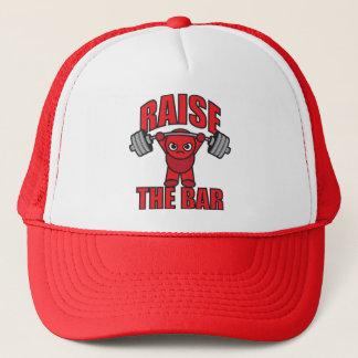 Weightlifting - Raise The Bar - Kawaii Motivation Trucker Hat