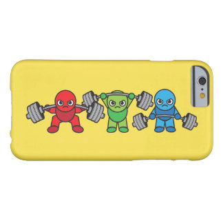 Weightlifting - Squat, Press, Deadlift - Kawaii Barely There iPhone 6 Case