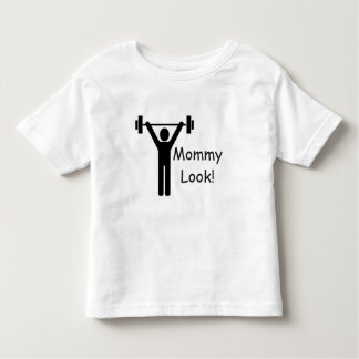 Weightlifting Toddler Fine Jersey White T-Shirt