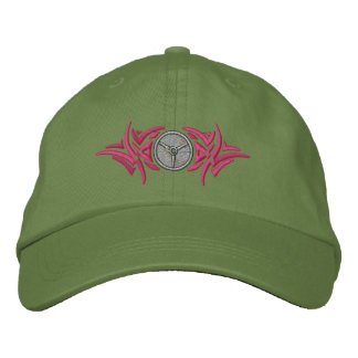 Weightlifting Tribal Embroidered Hat