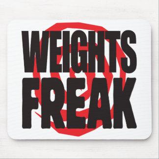 Weights Freak Mousepad