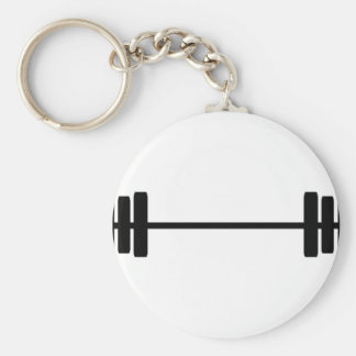 Weights Basic Round Button Key Ring