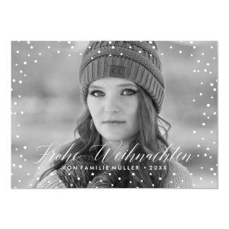 Weihnachten Schnee | Weihnachtskarte Card
