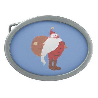 Weihnachtsmann Nikolaus Santa Claus Belt Buckle