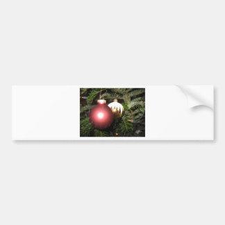 Weihnachtsschmuck Bumper Sticker