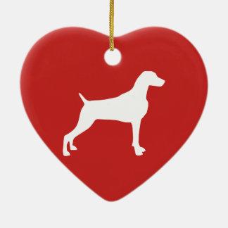 WEIM Heart Ornament