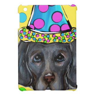 Weim Party Dog iPad Mini Covers