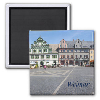 Weimar Markt photo Magnet