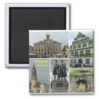 Weimar Square Magnet