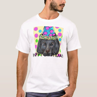 Weimarana Party Dog T-Shirt