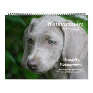 Weimaraner Calendar 1
