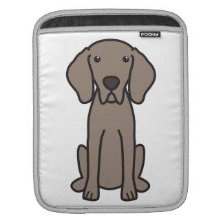 Weimaraner Dog Cartoon Sleeve For iPads