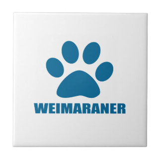 WEIMARANER DOG DESIGNS TILE