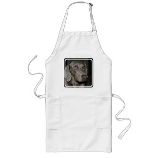 Weimaraner Dog Long Apron
