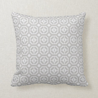 "WEIMARANER HEXAGON TAUPE COTTON  PILLOW 16""x16"""