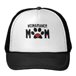 Weimaraner Mom Mesh Hats