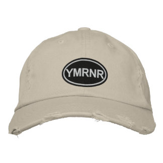 Weimaraner Nation : Embroidered YMRNR Embroidered Baseball Cap