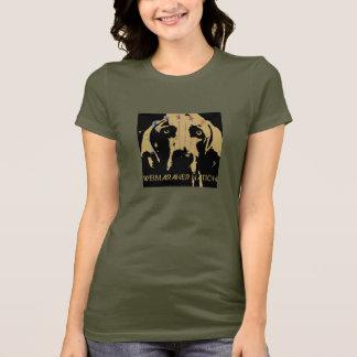 Weimaraner Nation : Official Logo T-Shirt