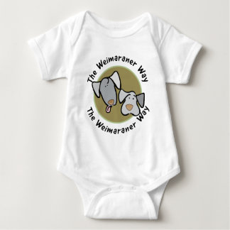 Weimaraner Nation : The Weimaraner Way Baby Bodysuit