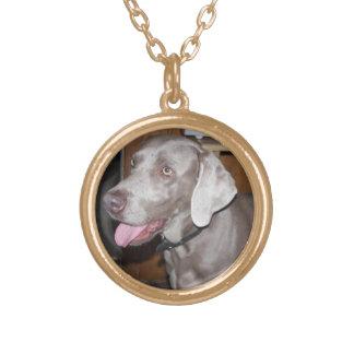 Weimaraner necklace