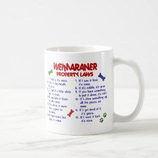 WEIMARANER PL2 CLASSIC WHITE COFFEE MUG