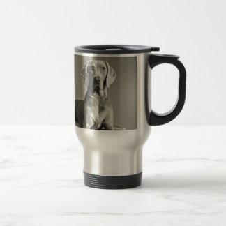 Weimaraner Portrait Travel Mug