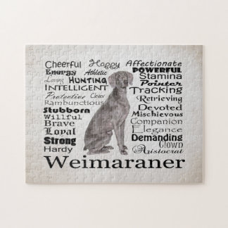 Weimaraner Traits Puzzle