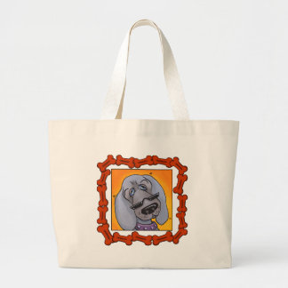 WEIMERANERS LARGE TOTE BAG