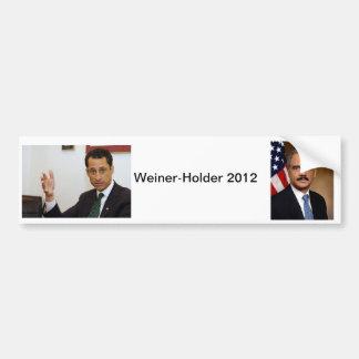 Weiner-Holder 2012 Bumper Sticker