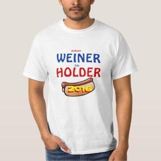 Weiner Holder for President/Vice-President 2016 T-Shirt