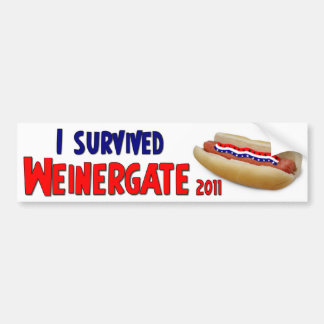 Weinergate 2011 - Anthony Weiner Bumper Sticker