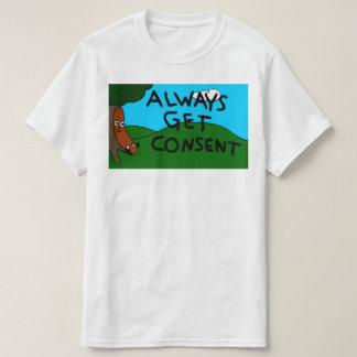 Weiner's World Always Get Consent Shirt