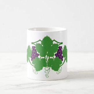 weintrauben vine grapes vine coffee mug
