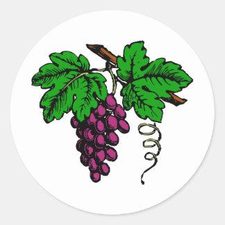 weintrauben vine grapes vine sticker