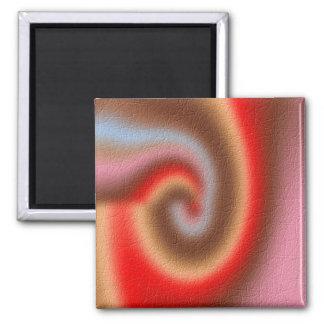 Weird abstract pattern fridge magnets