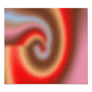 Weird abstract pattern photographic print