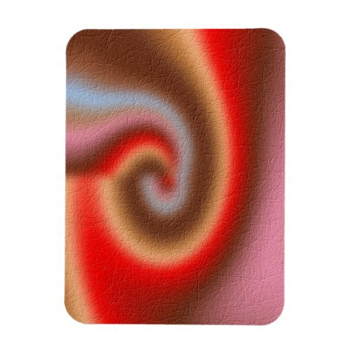 Weird abstract pattern magnet