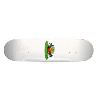 Weird Alien Brain Bot Skateboard Deck