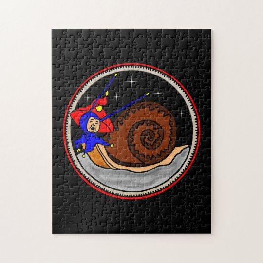 Weird Alien Snail On The Moon Puzzle