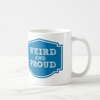 Weird and Proud, bonus mug