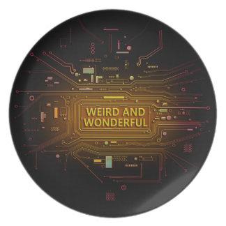 Weird and wonderful. plate