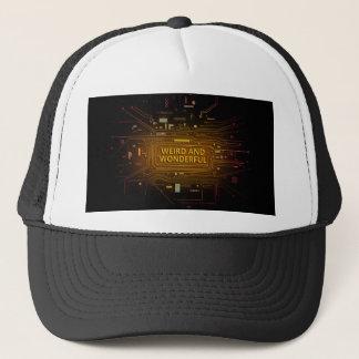 Weird and wonderful. trucker hat